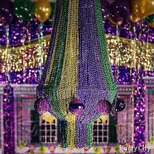 diy mardi gras chandelier how to mardi gras decoration