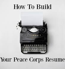 volunteer examples for resumes educational consultant resume sample create my resume art how to build your peace corps resume curiously wander