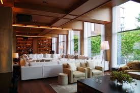 Hotels Interior Ian Schrager U0027s Public Hotel Opens In Nyc Cool Hunting