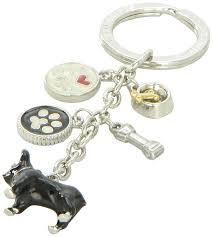 australian shepherd keychain amazon com littlegifts french bulldog enamel keychain pet