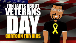 veterans day for kids cartoon learn fun facts about veterans day