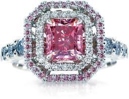 pink wedding rings diamond wedding ring pink wedding decorate ideas