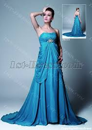 maternity evening wear blue chiffon empire maternity evening gown 1st dress