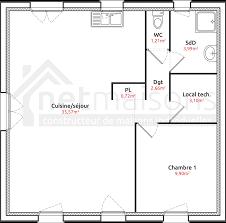 plan maison 80m2 3 chambres plan maison simple 3 chambres maison moderne