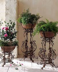 wrought iron wall planters wrought iron home decor u0026 accents pictures