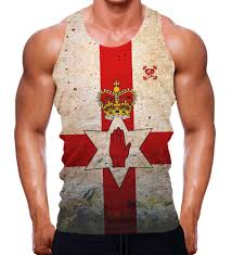 Flag Clothing Country Flag Gym Tank Tops Collection On Ebay