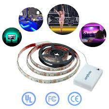led battery operated strip lights simfonio led strip lights battery operated led lights 1m 5v 30leds