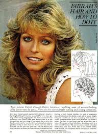 farrah fawcett hair cut instructions farrah fawcett haircut and styling instructions woohoo been