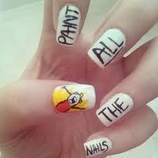 Nail Art Meme - meme nail art creative idea i bet the nail artists at la nails or