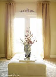 Burlap For Curtains Thrifty And Chic Diy Projects And Home Decor
