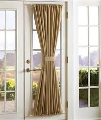 Sidelight Curtain by Modern Entryway Design With Brown Sheer Blackout Sidelight
