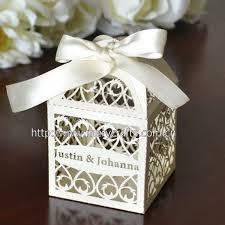 personalized wedding favor boxes piezas de corte láser 100 filigrana boda cuadro favor excelente