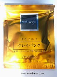 Jual Masker Naturgo review masker shiseido naturgo ternyata palsu travelling