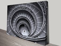 beautiful stairwell canvas print
