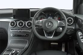 mercedes benz silver lightning interior new mercedes benz glc diesel coupe glc 220d 4matic amg line 5 door