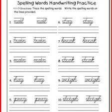 spelling worksheets for 1st grade kristal project edu hash
