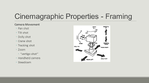 cinematography film study i cinematography cinematography is the