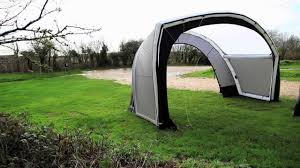 Vw T5 Awnings Inflatable Vw T5 Tent Gybe Design Youtube