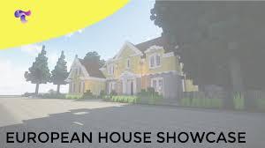 european house minecraft european house showcase utb youtube