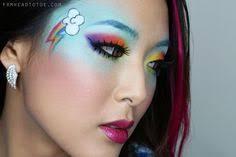 Pony Rainbow Dash Halloween Costume Psychedelic Fairy Womens Costume Fantastic Fantasy Costumes
