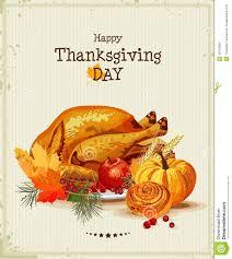 día de la acción de gracias tarjeta de felicitación con el pavo
