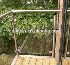 Buy Banister Stainless Steel Balcony Banister Exterior Stair Railings For