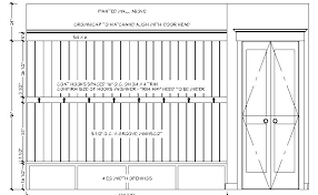 Built In Bench Seat Dimensions Mudroom Bench Plans Popular Items For Entryway Bench On Etsy
