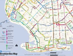 B47 Bus Route Map by Brooklyn Bus Maps From 1969 74 76 81 85 88 90 93 96 98 99 2000 02
