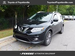 nissan rogue gas tank 2016 used nissan rogue fwd 4dr sl at toyota of fayetteville