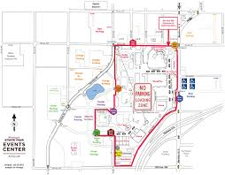 State Fair Map by Show Parking