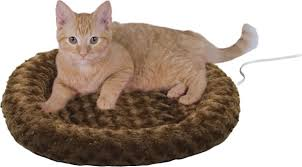 Hooded Dog Bed K U0026h Pet Products Thermo Kitty Fashion Splash Cat Bed Mocha