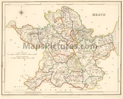 county meath ireland map 1837