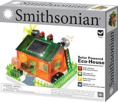 amazon com smithsonian science activities eco house kit toys u0026 games