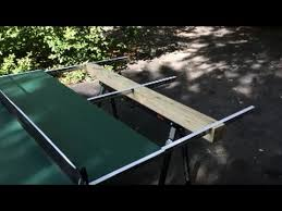 Ping Pong Table Cheap Homemade Outdoor Ping Pong Table Youtube