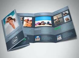 stunning tri fold business cards business card design 5131