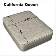 california queen 60 x 84