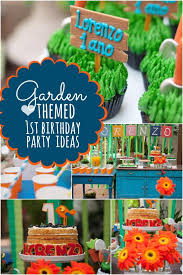 1st birthday party ideas boy a garden themed boy s birthday party spaceships and laser