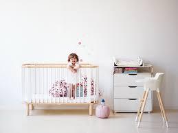 chambre bébé modulable lit bébé évolutif blanc flexa pour chambre enfant les enfants du