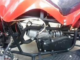 my son u0027s quad bike atv with a 49cc 2 stroke engine team bhp