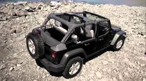 jeep convertible 4 door 2016 jeep wrangler sunrider soft top four door models youtube