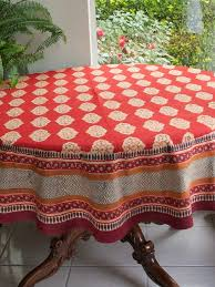 Different Designs And Ideas Of Round Table Cloth