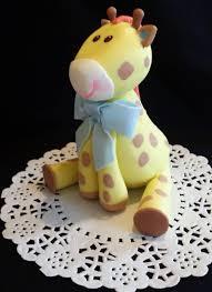 giraffe cake giraffe cake topper giraffe baby shower baby giraffe birthday