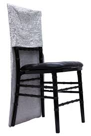 chair back covers glitz sequin chair back cover silver cv linens