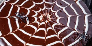 spiderweb cake recipe u2014delish com