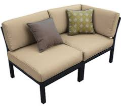 Mainstays Wicker 5 Piece Patio Dining Set Seats 4 - amazon com outdoor patio sectional 7 piece stylish furniture