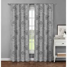 creative home ideas semi opaque lenox 100 cotton extra wide 96 in
