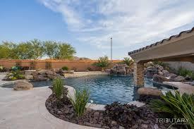 backyard boulder living tributary pools u0026 spas