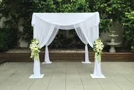 chuppah canopy white timber canopy wod