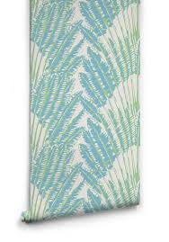 feather palm wallpaper in sea breeze from the kingdom home