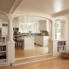 benjamin moore white dove for a traditional kitchen with a sunken
